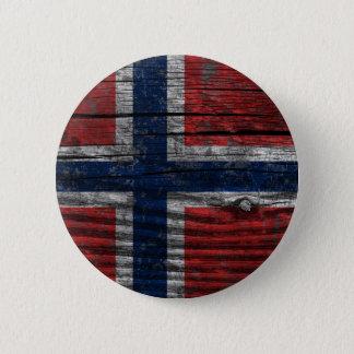 Badge Rond 5 Cm Drapeau - Norway