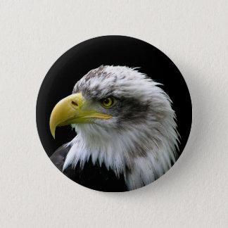 Badge Rond 5 Cm Eagle chauve
