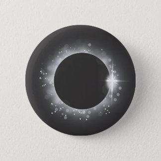 Badge Rond 5 Cm Éclipse solaire