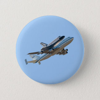 Badge Rond 5 Cm Effort de navette spatiale