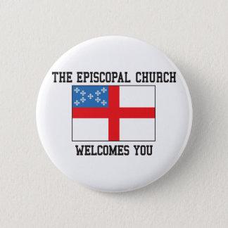 Badge Rond 5 Cm Église épiscopale