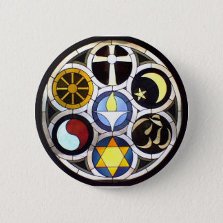 Badge Rond 5 Cm Église universaliste unitarienne Rockford, IL