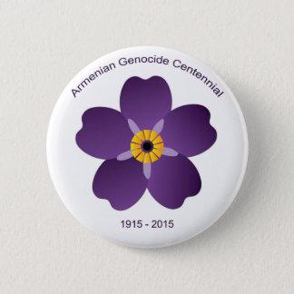 Badge Rond 5 Cm Emblème arménien de Centennial de génocide
