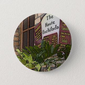 Badge Rond 5 Cm Enchilada de Haute, atterrissage de mousse