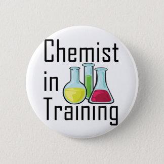 Badge Rond 5 Cm Enfant de chimie d'étudiant de chimiste