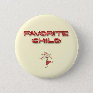 Badge Rond 5 Cm Enfant préféré