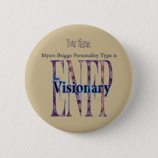 Badge Rond 5 Cm ENFP theVisionary