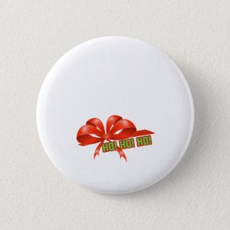 Badge Rond 5 Cm enveloppe de cadeau de Noël de grossesse Ho HO HO