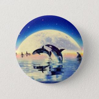 Badge Rond 5 Cm Épaulard d'orque
