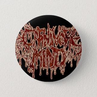 Badge Rond 5 Cm esprit de carnivore