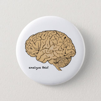 Badge Rond 5 Cm Esprit humain : Analysez ceci !