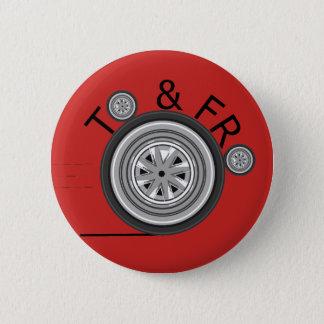 Badge Rond 5 Cm Et pour à l'insigne de Carshare