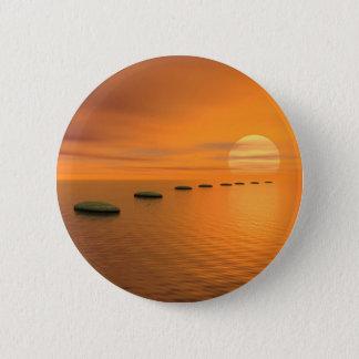 Badge Rond 5 Cm Étapes au soleil