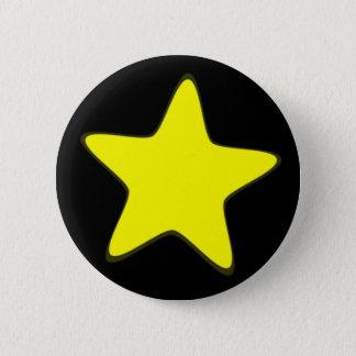 Badge Rond 5 Cm Étoile