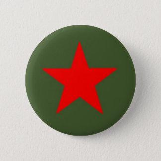 Badge Rond 5 Cm Étoile communiste