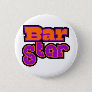 Badge Rond 5 Cm Étoile de barre