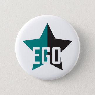 Badge Rond 5 Cm Étoile d'égoïsme