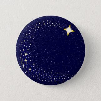 Badge Rond 5 Cm Étoile filante