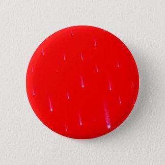Badge Rond 5 Cm Étoiles filantes en baisse rouges de Noël