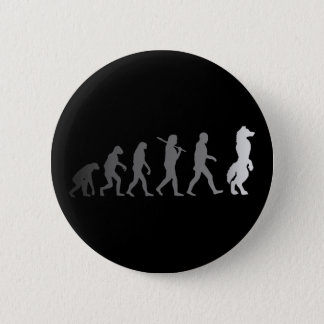 Badge Rond 5 Cm Évolution velue