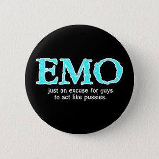 Badge Rond 5 Cm Excuse d'Emo