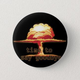 Badge Rond 5 Cm Explosion nucléaire