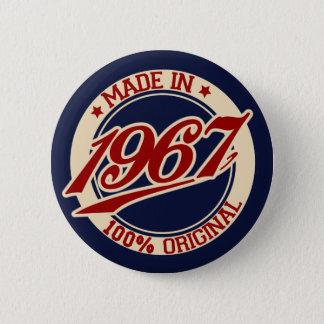 Badge Rond 5 Cm Fait en 1967