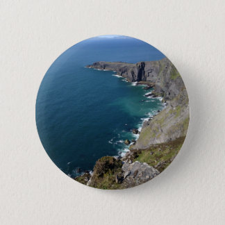 Badge Rond 5 Cm Falaises irlandaises dans Dingle Irlande par