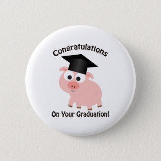 Badge Rond 5 Cm Félicitations sur votre obtention du diplôme !