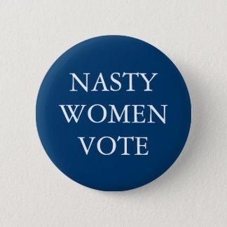 Badge Rond 5 Cm FEMMES MÉCHANTES pour la campagne de Hillary