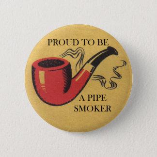 Badge Rond 5 Cm Fier d'être un insigne de bouton de fumeur de