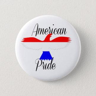 Badge Rond 5 Cm Fierté américaine