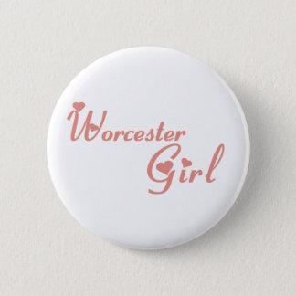 Badge Rond 5 Cm Fille de Worcester