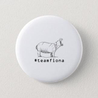 Badge Rond 5 Cm Fiona l'hippopotame de #teamfiona d'hippopotame de