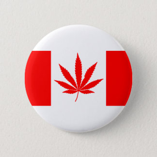 Badge Rond 5 Cm Flag_of_Canada 1