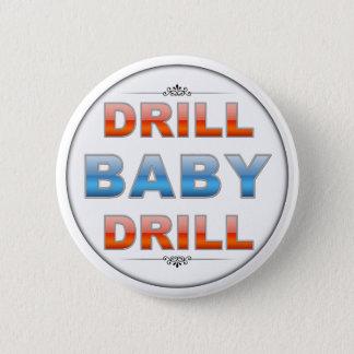 Badge Rond 5 Cm Foret de bébé de foret