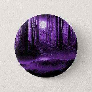 Badge Rond 5 Cm forêt foncée