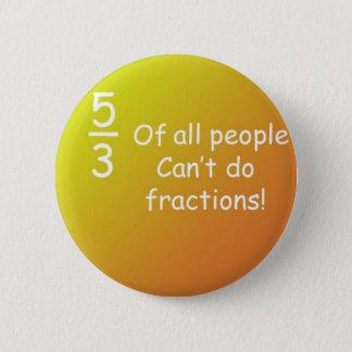 Badge Rond 5 Cm fractions de bouton