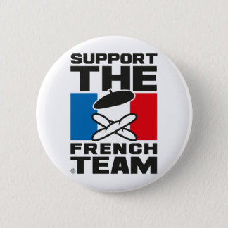 BADGE ROND 5 CM FRENCH TEAM