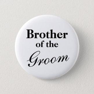 Badge Rond 5 Cm Frère élégant des boutons de marié