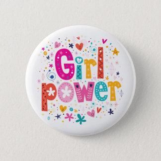 Badge Rond 5 Cm Frères du bouton | de puissance de fille mini