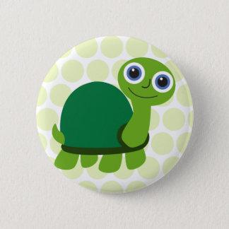 Badge Rond 5 Cm Garçon de tortue