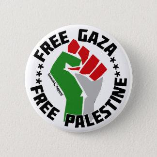 Badge Rond 5 Cm gaza libre libèrent la Palestine