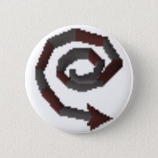 Badge Rond 5 Cm Goupille abyssale de fouet