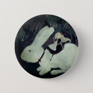 Badge Rond 5 Cm Goupille d'Alice