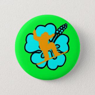 Badge Rond 5 Cm goupille de surf des neiges