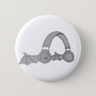 Badge Rond 5 Cm Goupille d'écouteur