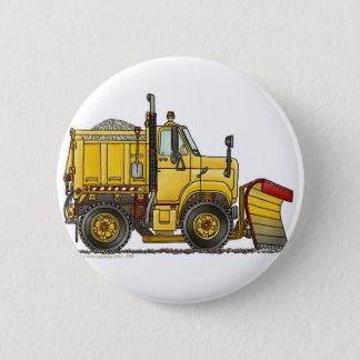 Badge Rond 5 Cm Goupilles de camion de chasse-neige