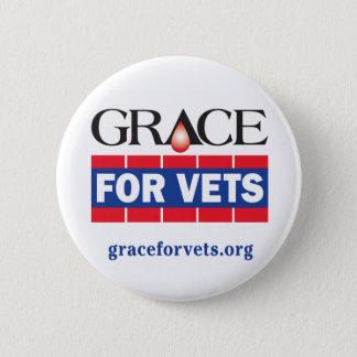 Badge Rond 5 Cm Grâce pour des vétérinaires