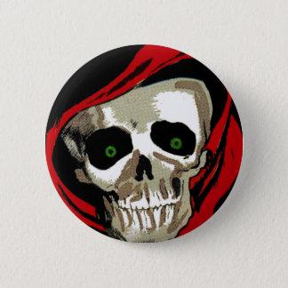 Badge Rond 5 Cm Grand crâne